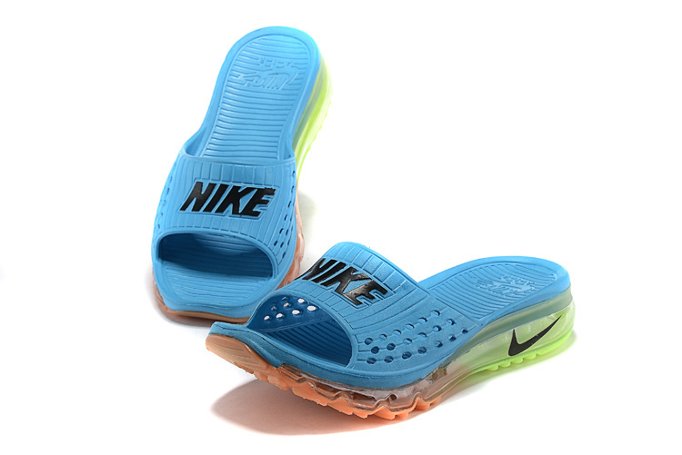 Nike airmax full air traction heren slippers blauw sneakerstad - Buisvormige constructie ...