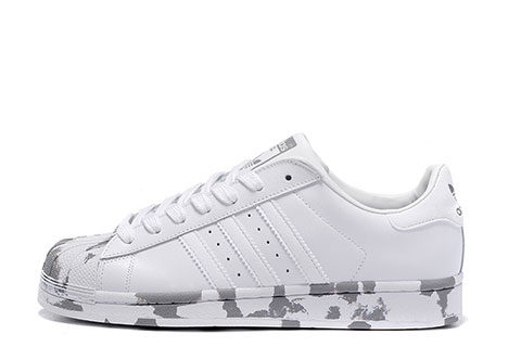 adidas superstar grijs
