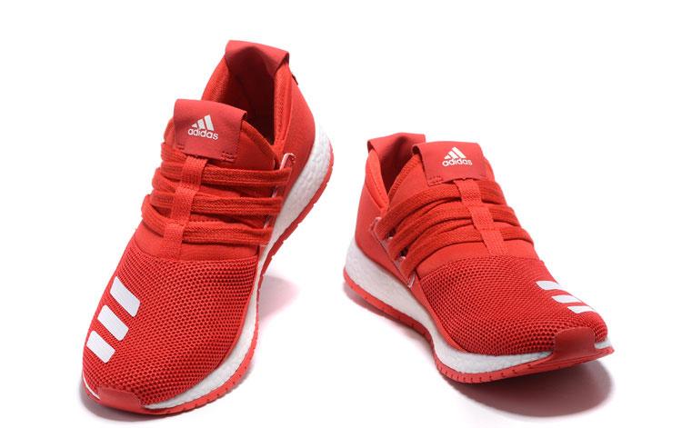 adidas hardloopschoenen rood
