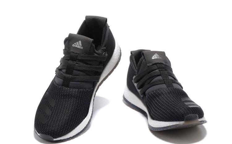 Adidas Pure Boost Heren Sneakers - Zwart/Wit