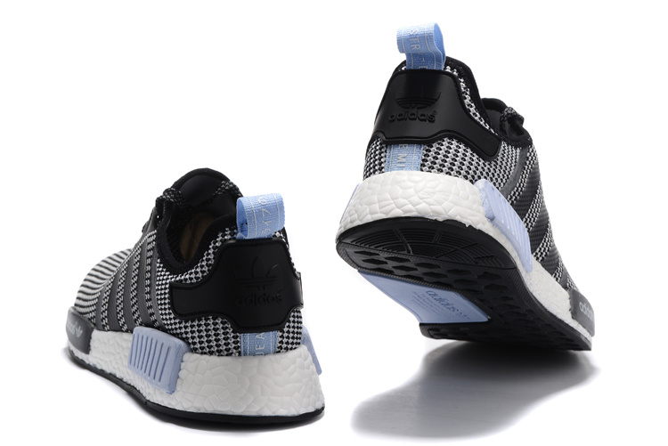 Adidas NMD Heren Sneakers - Grijs/Zwart/Wit