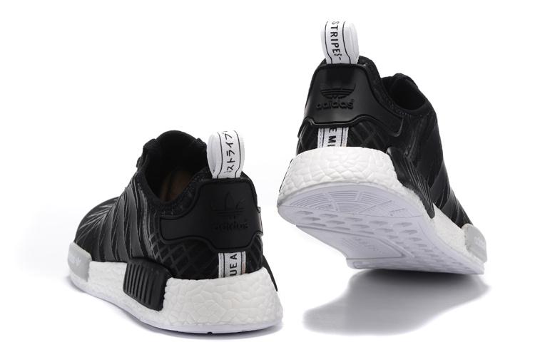 adidas nmd zwart