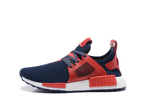 Adidas Orginals NMD Heren Sneakers DonkerblauwRood