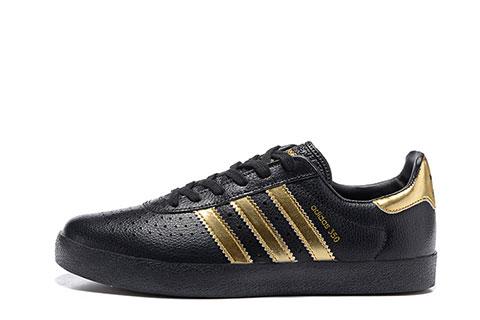 adidas sneakers zwart met goud