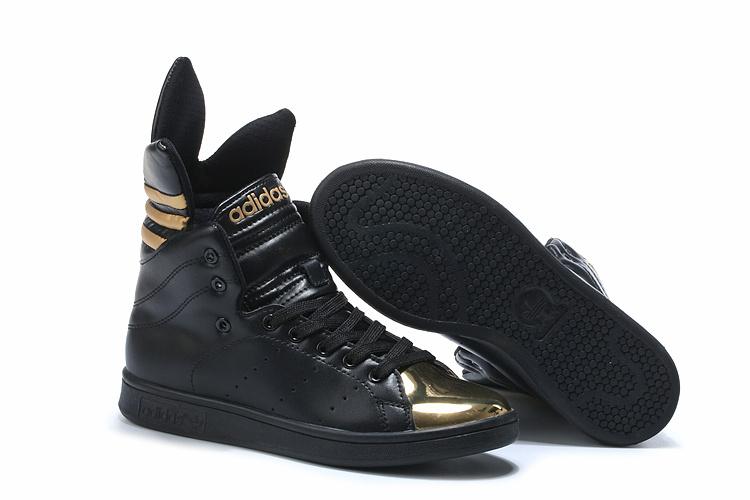 adidas sneakers zwart goud