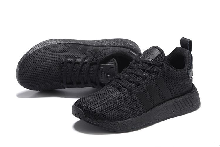 Adidas Originals NMD R2 Heren Sneakers - Zwart