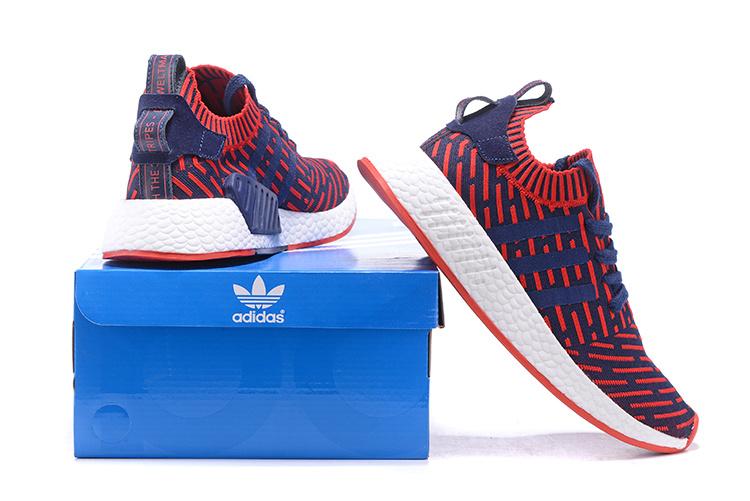 adidas schoenen rood blauw