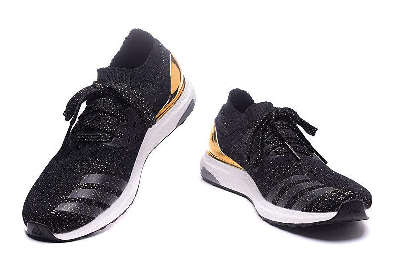 adidas sneakers goud zwart