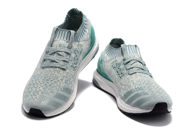 Adidas Ultra Boost Uncaged Unisex Sneakers GroenGrijsWit