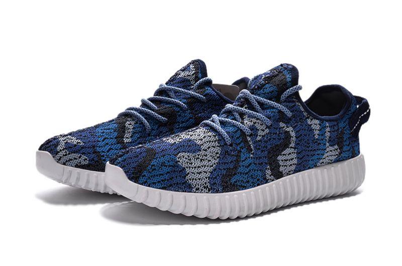 Adidas Yeezy Boost 350 Heren Sneakers Released By Kanye West Blauw