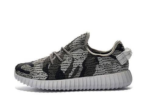 Adidas Yeezy Boost 350 Heren Sneakers Released by Kanye West GrijsZwartWit