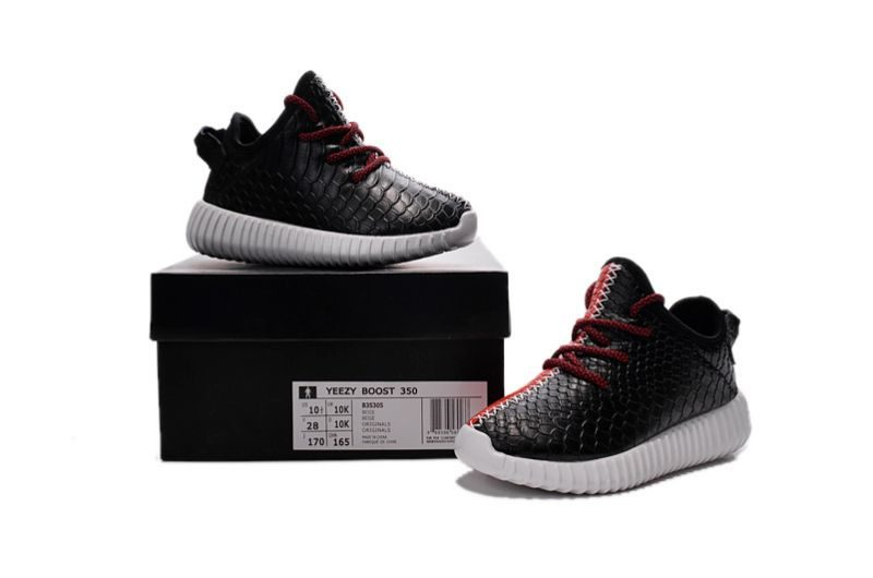 adidas yeezy zwart rood
