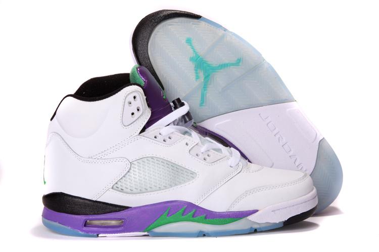 Nike Air Jordan 5 Heren Blauw