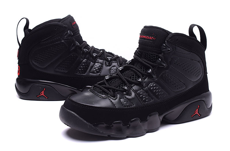 Nike Air Jordan Retro IX 9 Dames Sneakers ZwartGoudPrint @ Sneakerstad