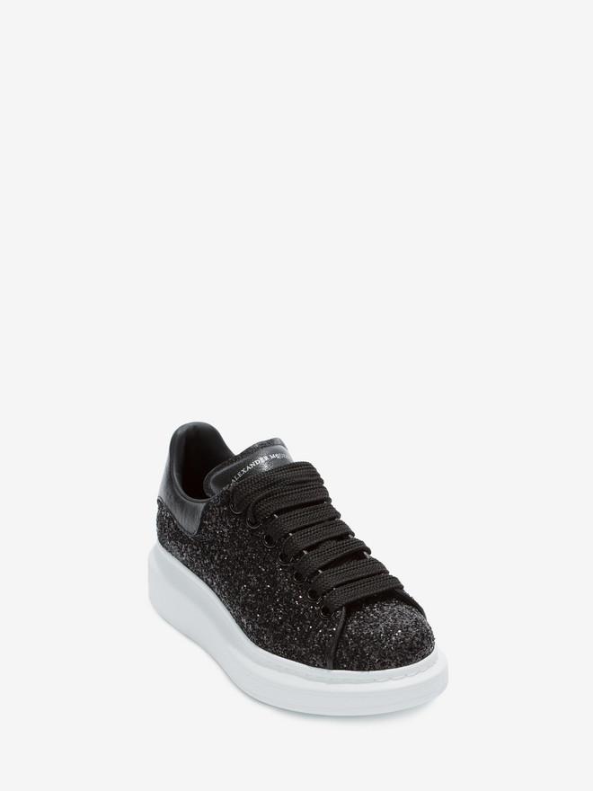 Alexander Mcqueen Oversized Glitter Dames Sneakers ZwartWit vind je in Sneakerstad