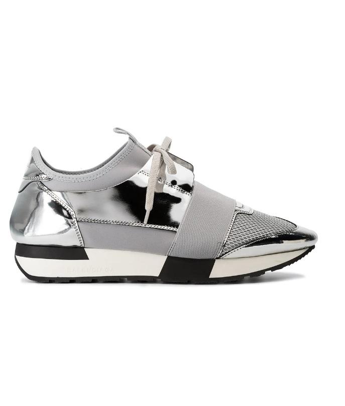 Dames ZilverSneakerstad Balenciaga Sneakers Race Runner 0wmnyv8NO