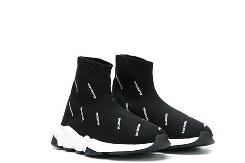 balenciaga speed trainer zwart