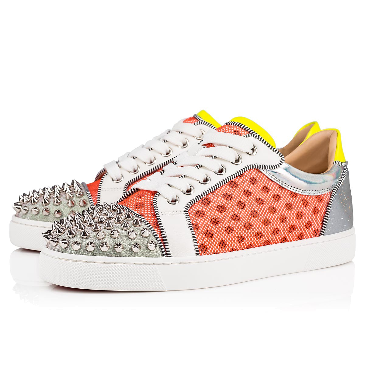 half off 55a5b a02ab Christian Louboutin Vieira Spikes Orlato Unisex Sneakers - Muliticolor in  SneakerStad