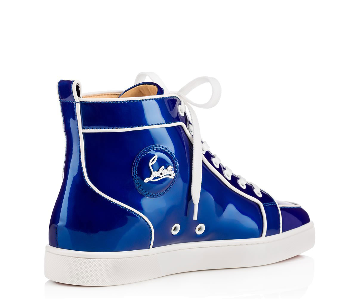 9622c81f4b3 Christian Louboutin Rantus Orlato Heren Sneakers - Blauw/Wit ...