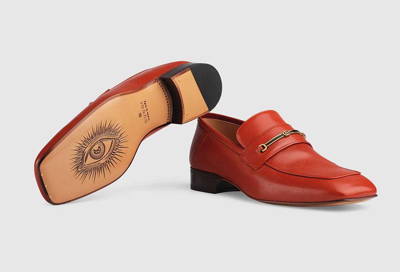 c03bbedf560 Gucci horsebit heren instappers oranje - Vind je in Sneakerstad