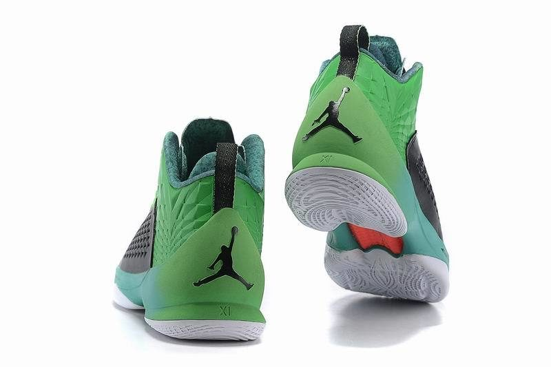 Nike Air Jordan Melo M11 Kinder Sneakers GroenZwart