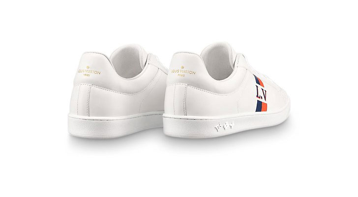 9fb33357147 Louis Vuitton luxembourg heren sneakers wit/oranje - Vind je in ...