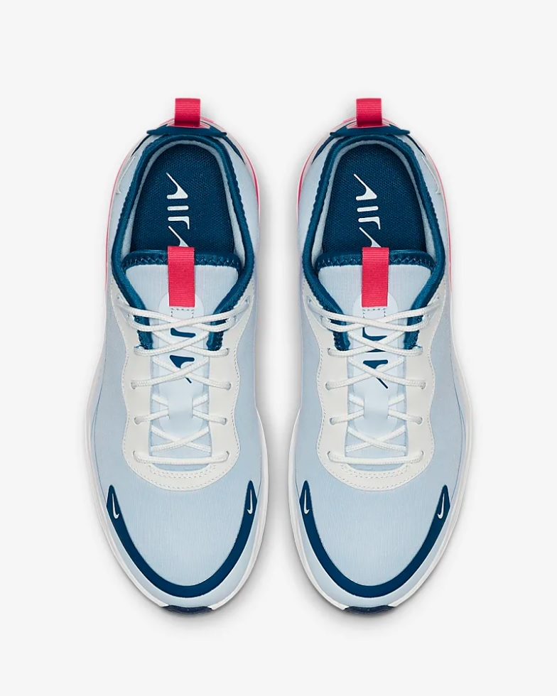 nike air max dames wit blauw