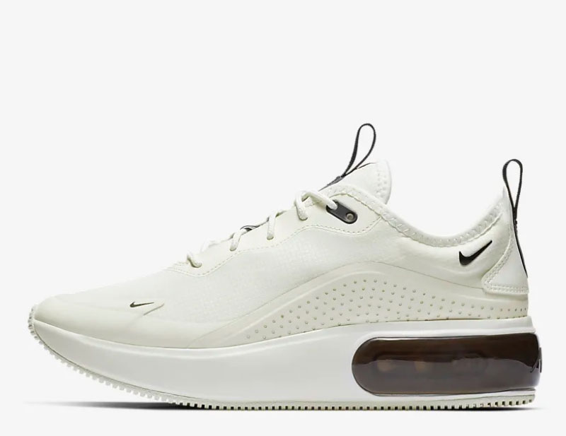 Nike Air Max Dia wit zwart