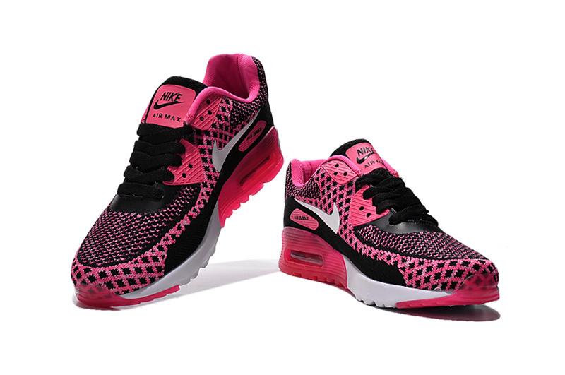 nike airmax roze en zwart