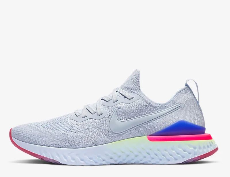 2 Witblauw Sneakers Epic React Nike Flyknit Dames W9YH2IbeDE