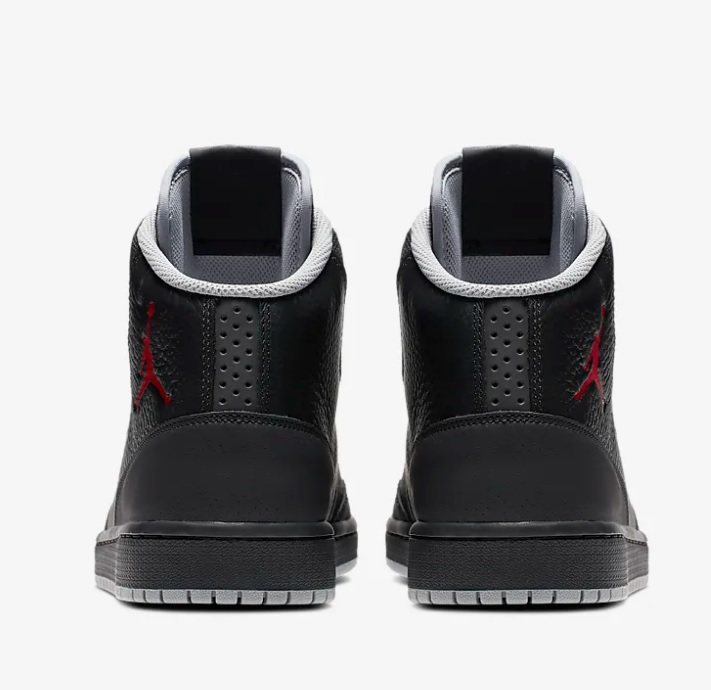 Nike jordan executive heren sneakers zwartrood vind je in Sneakerstad