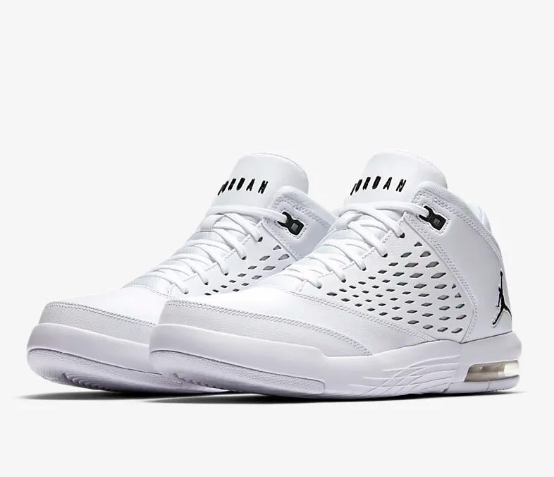 Onwijs Nike Jordan flight orgin 4 heren sneakers wit/zwart vind je in HU-42