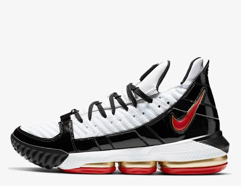 f4b95674807 Nike Le Bron 16 sb basketbal dames sneakers zwart/wit vind je in ...