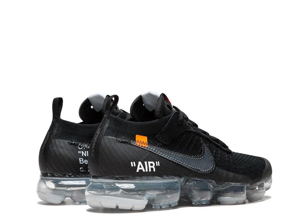 Nike x Off White The 10: Air Vapormax FK zwartwit