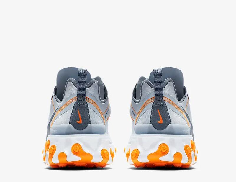 3c9c773e126 Nike react element 55 dames sneakers grijs/wit -01 vind je in ...