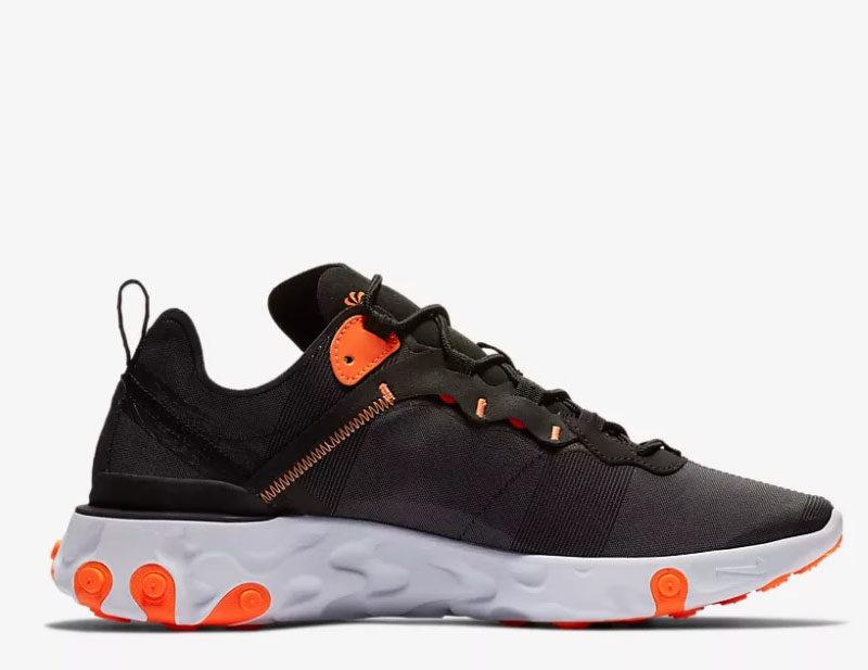 c9ec6ba72b1 Nike react element 55 heren sneakers zwart/wit vind je in Sneakerstad
