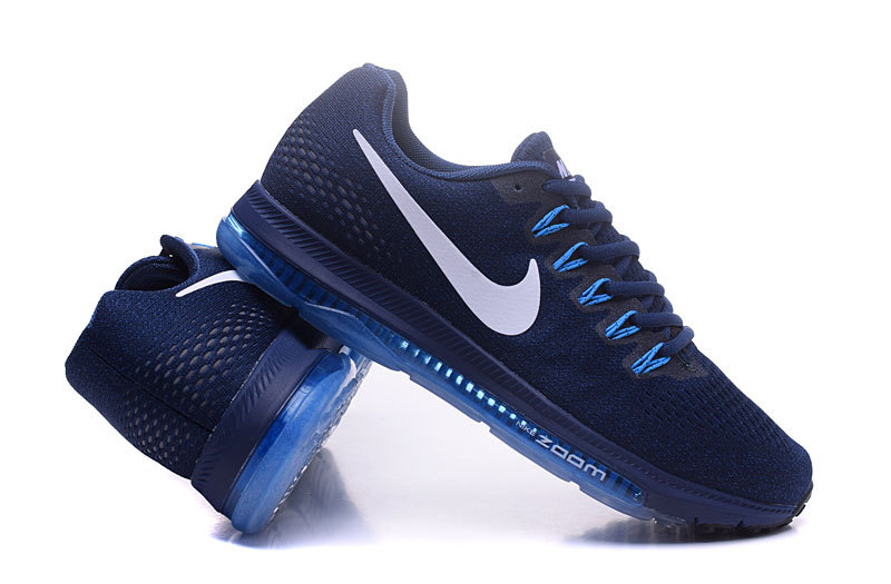 Nike Air Zoom ALL Out Flyknit Heren Sneakers - Blauw