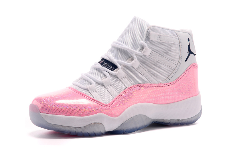 Nike Air Jordan 11 Retro Dames Sneakers - Wit/Roze