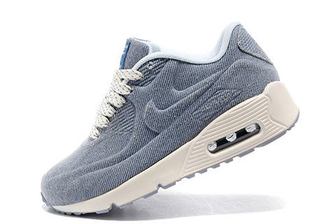 hot sale online 732c7 1efbd Nike Airmax 90 Hyperfuse Kinder Sneakers – Grijs Wit