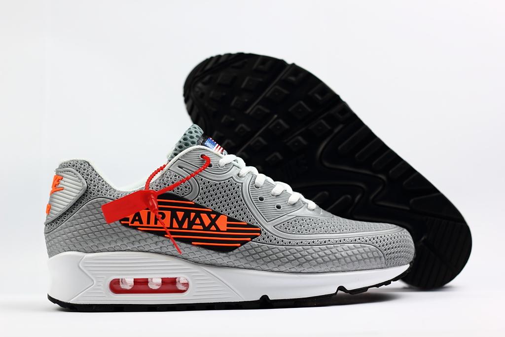 nike airmax 90 zwart grijs