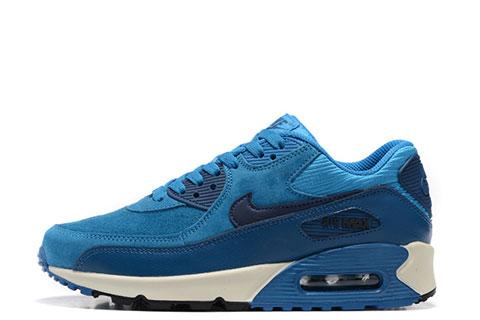 Nike Air Max 90 Winter Premium Heren Sneakers BlauwWit