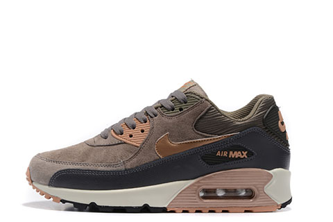 Nike Air Max 90 Winter Premium Heren Sneakers - Bruin/Grijs/Wit