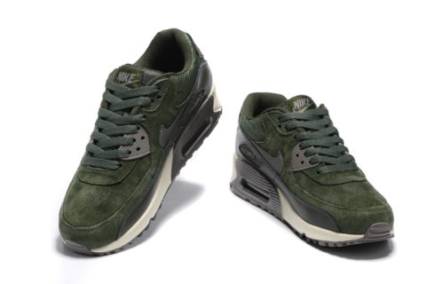 Nike Air Max 90 Winter Premium Heren Sneakers GroenZwartGrijs