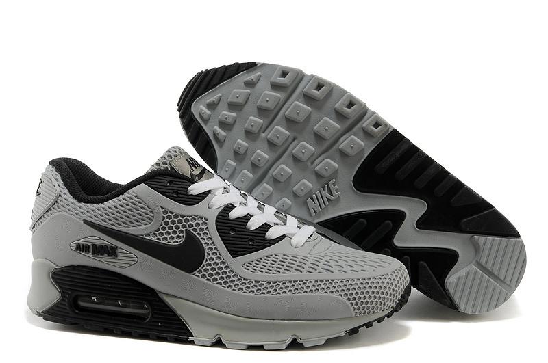 nike airmax 90 grijs zwart