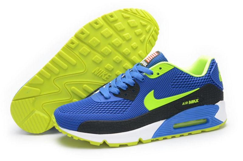 Nike Airmax 90 BR USA Heren Sneakers BlauwGroenWit