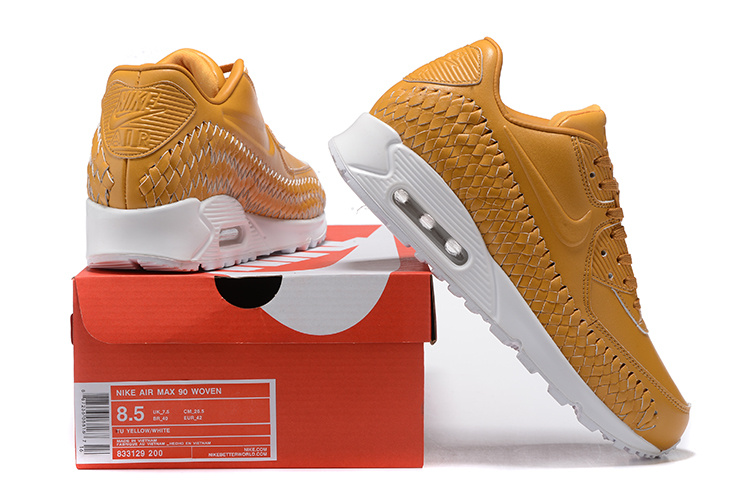 new products 290c5 9374b Nike Air Max 90 Woven Unisex Sneakers @ Sneakerstad