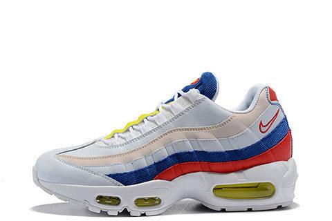 f50b44d37ca Nike Air Max 95 SE Unisex Sneakers – Wit/Blauw/Rood/Geel