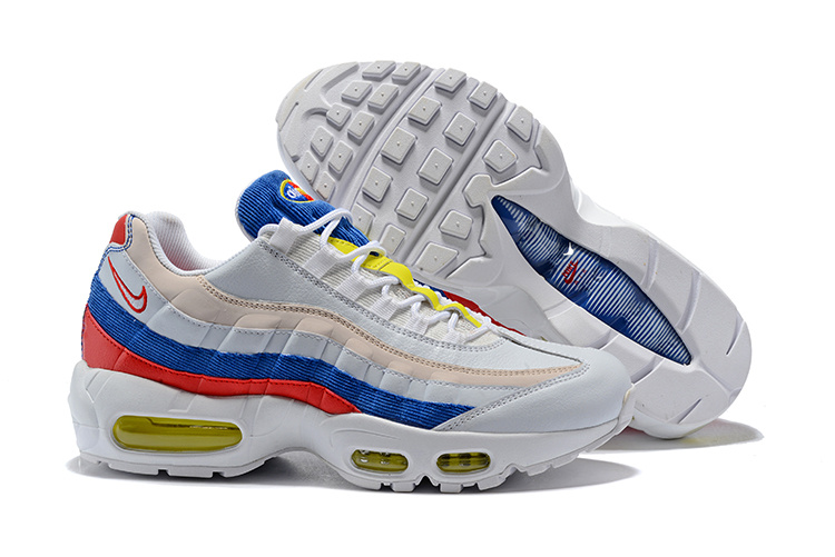 nike air max 95 wit blauw