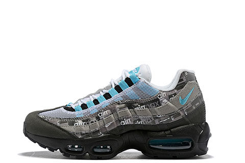 948850865dd Nike Air Max 95 SE Unisex Sneakers – Zwart/Grijs/Blauw