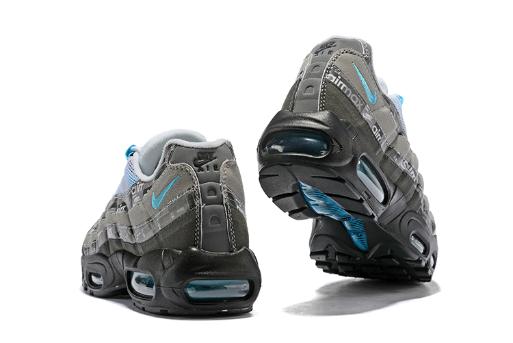 nike air max 95 zwart blauw